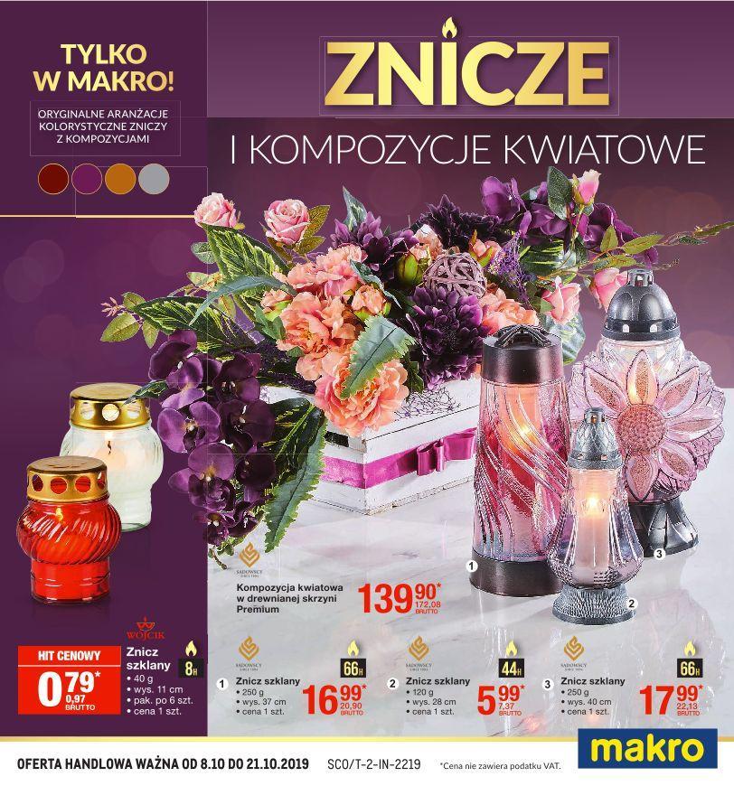 Gazetka promocyjna MAKRO do 21/10/2019 str.1