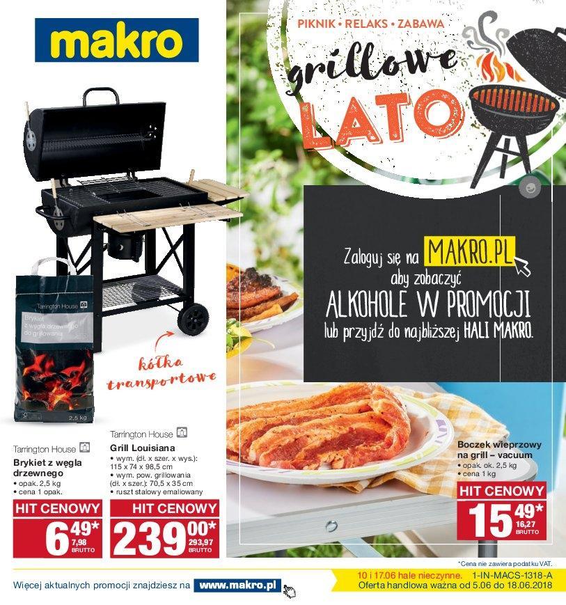 Gazetka promocyjna MAKRO do 18/06/2018 str.1
