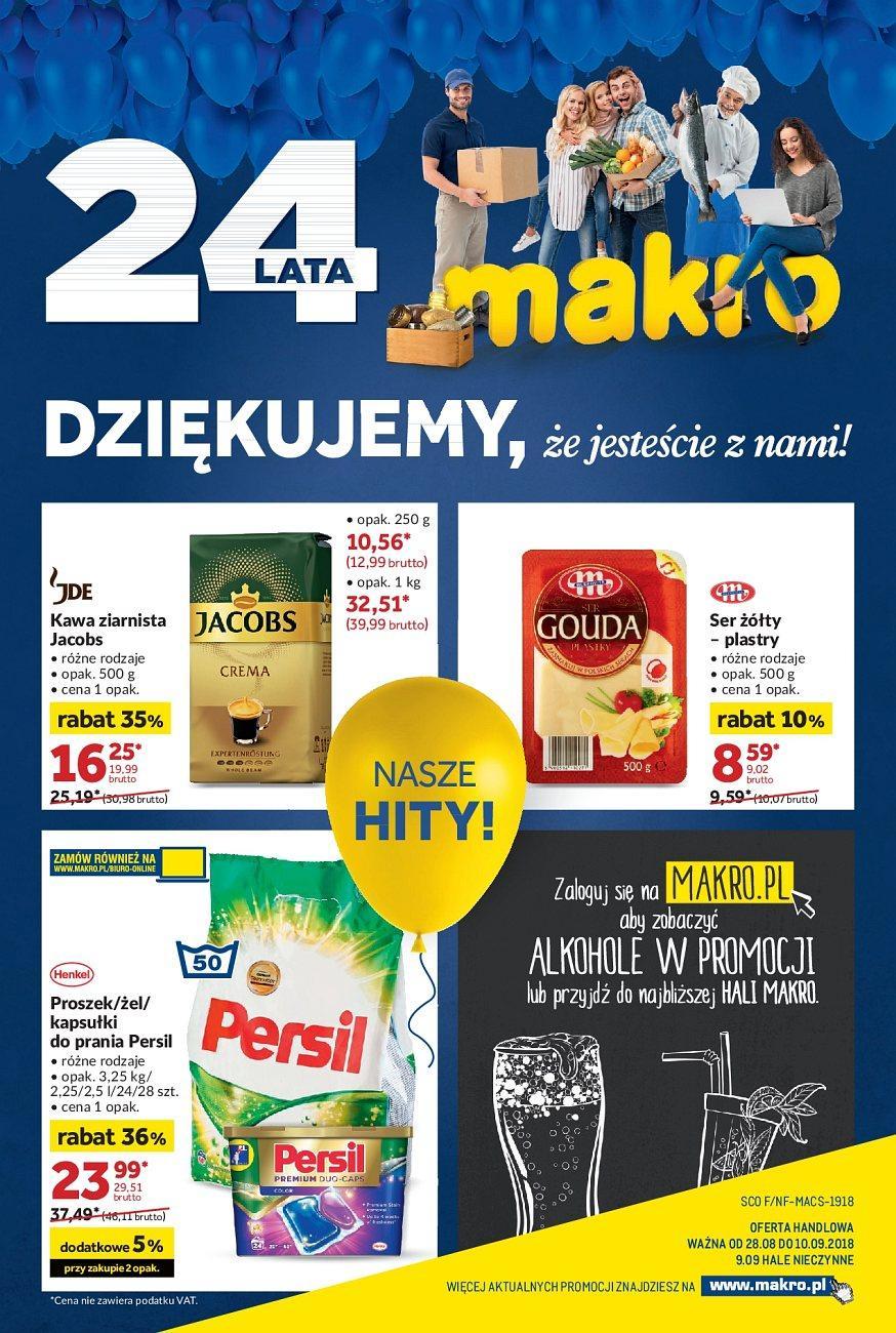 Gazetka promocyjna MAKRO do 10/09/2018 str.0