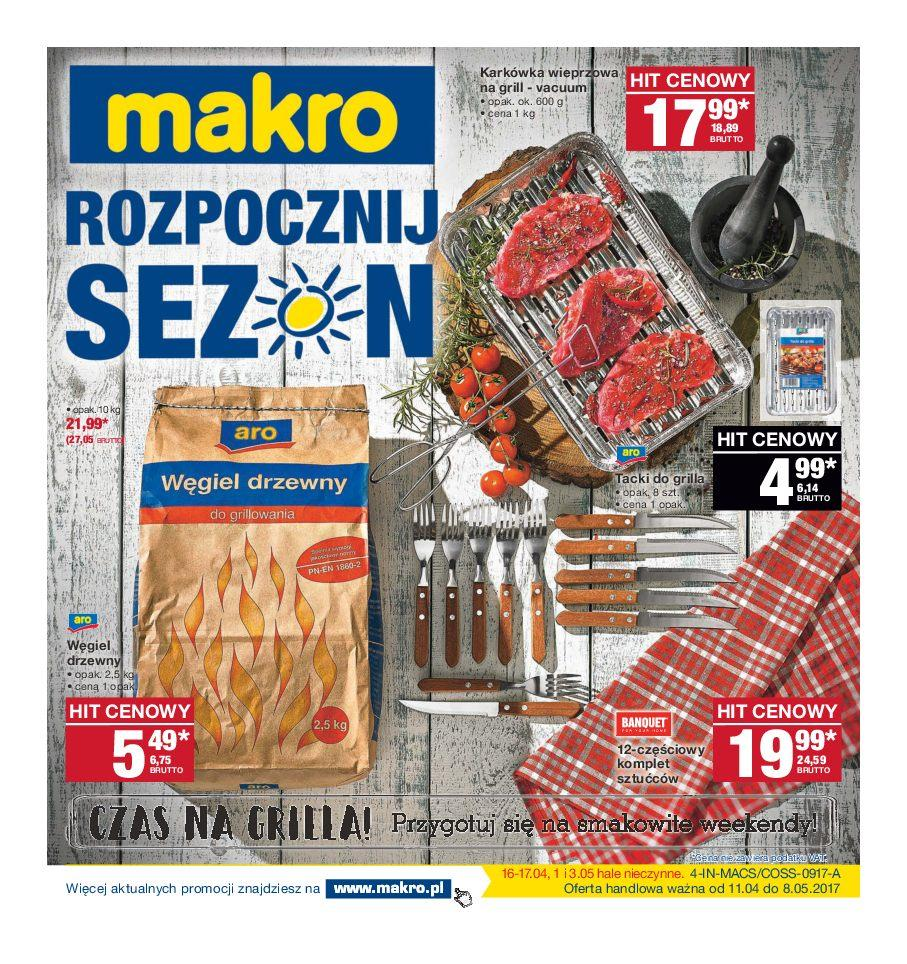 Gazetka promocyjna MAKRO do 24/04/2017 str.0