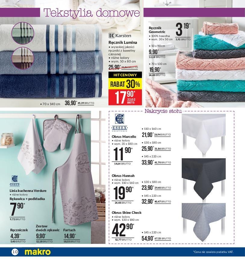 Gazetka promocyjna MAKRO do 05/11/2018 str.10