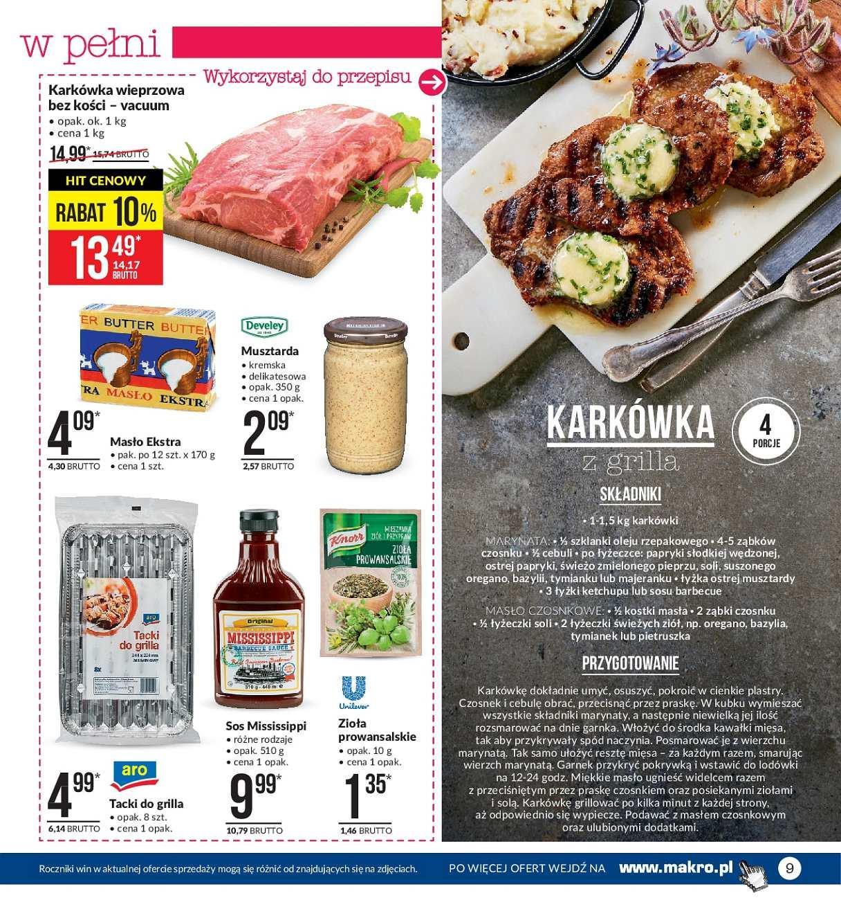 Gazetka promocyjna MAKRO do 13/08/2018 str.9