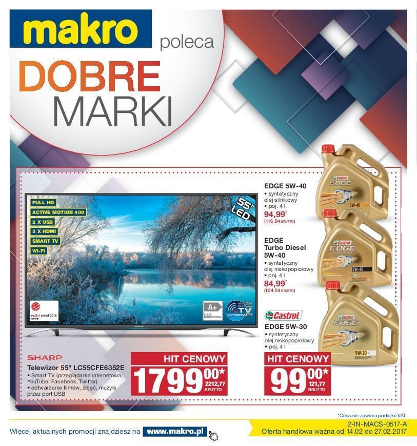 Gazetka promocyjna MAKRO do 27/02/2017 str.0