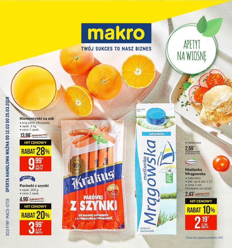 Gazetka promocyjna MAKRO do 25/03/2019 str.0