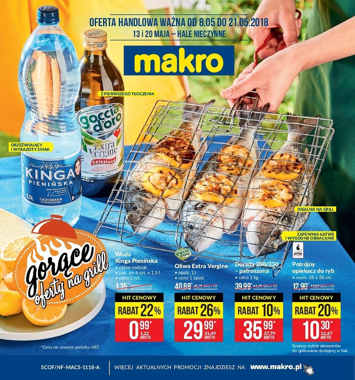 Gazetka promocyjna MAKRO do 21/05/2018 str.0