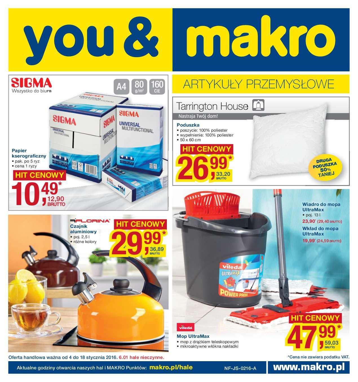 Gazetka promocyjna MAKRO do 18/01/2016 str.0