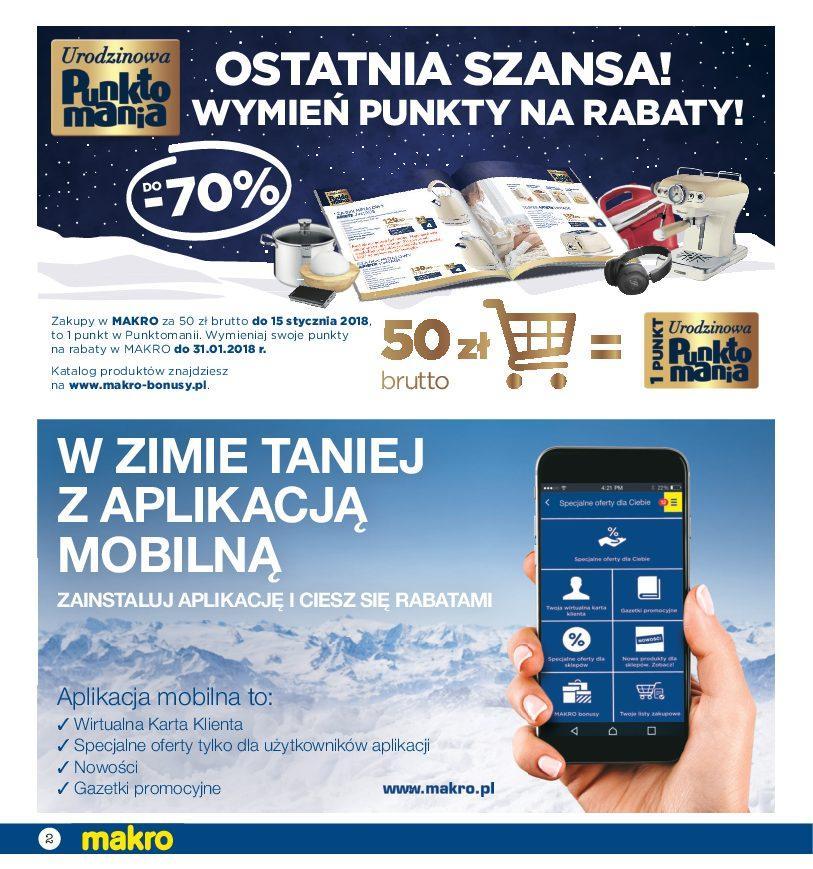 Gazetka promocyjna MAKRO do 29/01/2018 str.1