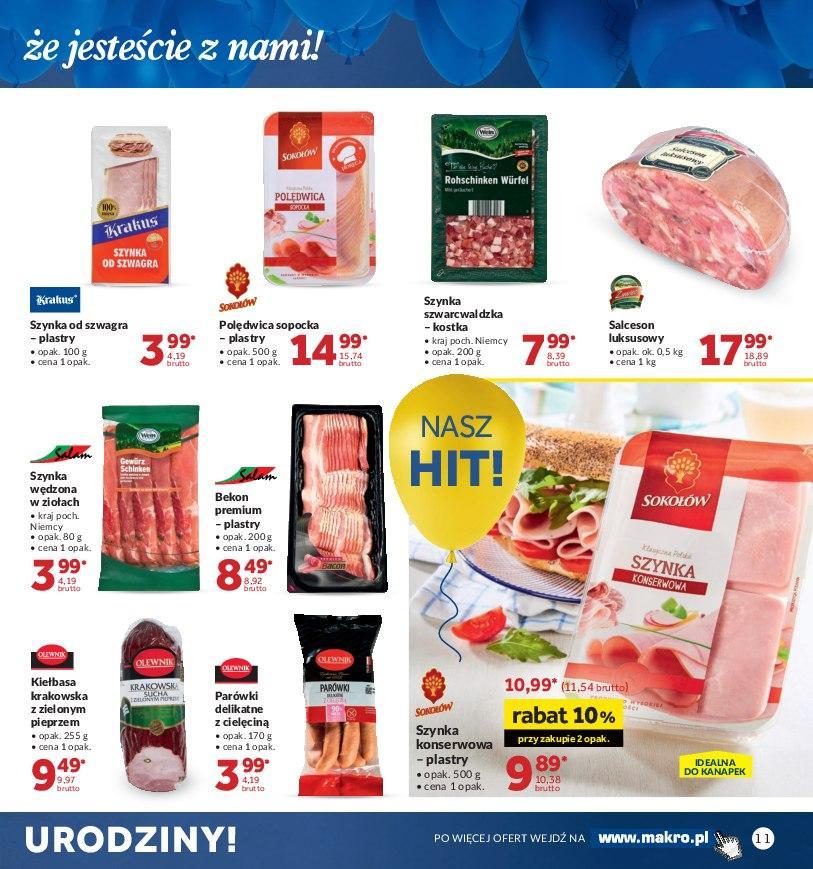 Gazetka promocyjna MAKRO do 22/10/2018 str.10
