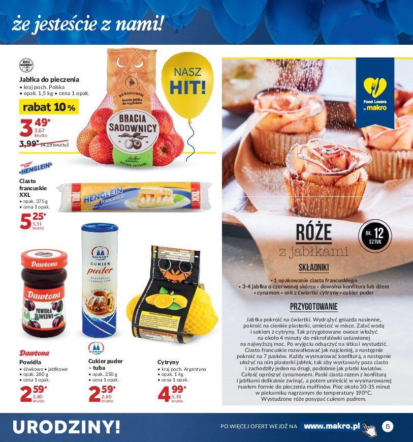Gazetka promocyjna MAKRO do 22/10/2018 str.4
