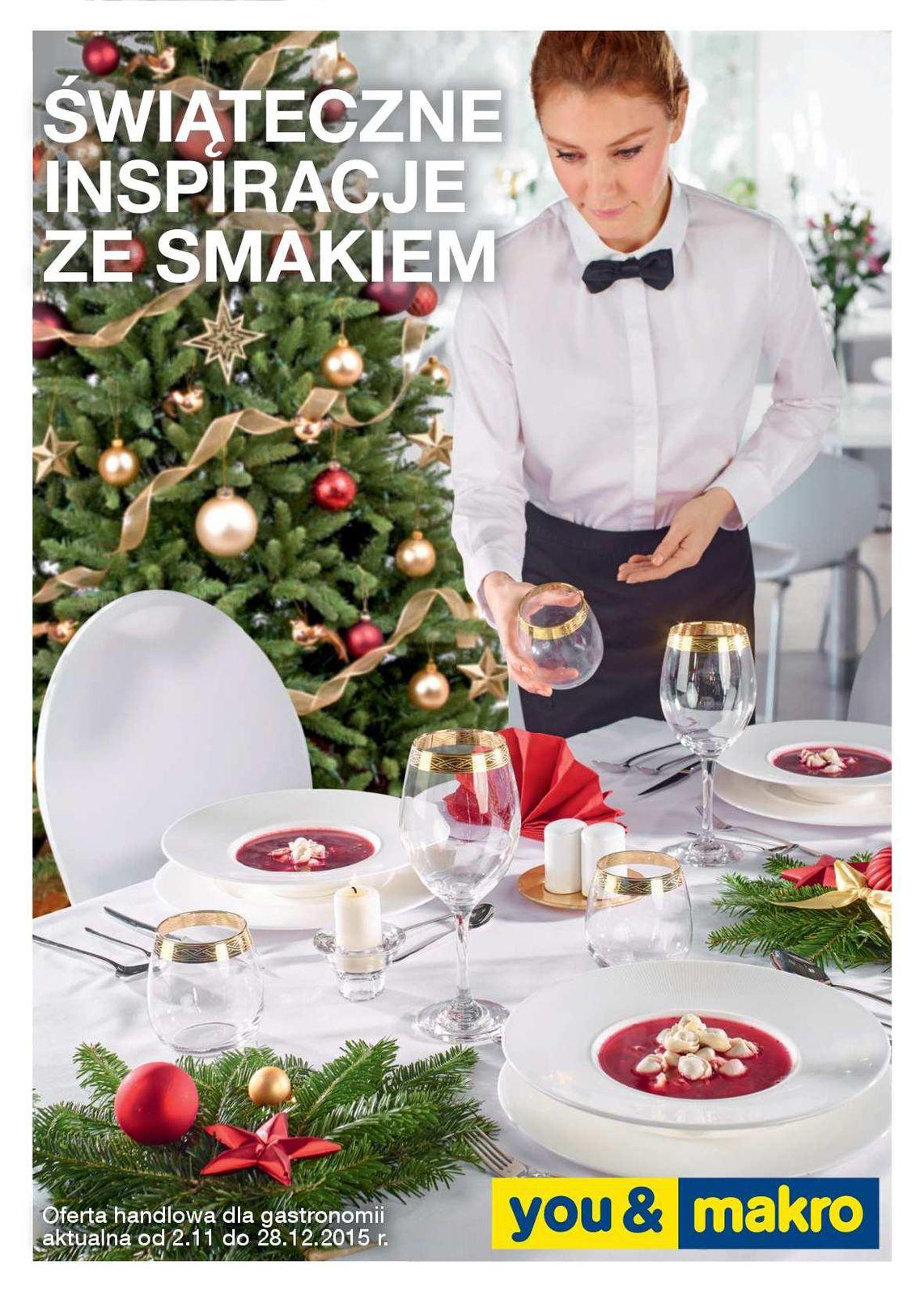 Gazetka promocyjna MAKRO do 28/12/2015 str.0