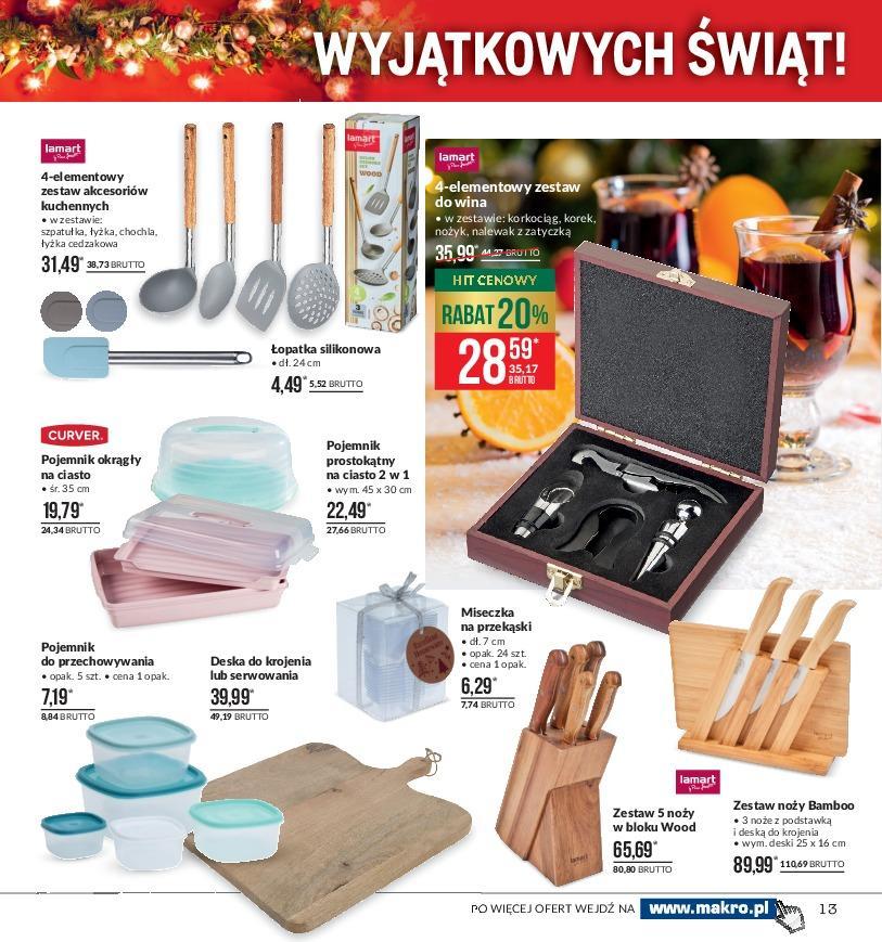 Gazetka promocyjna MAKRO do 03/12/2018 str.13