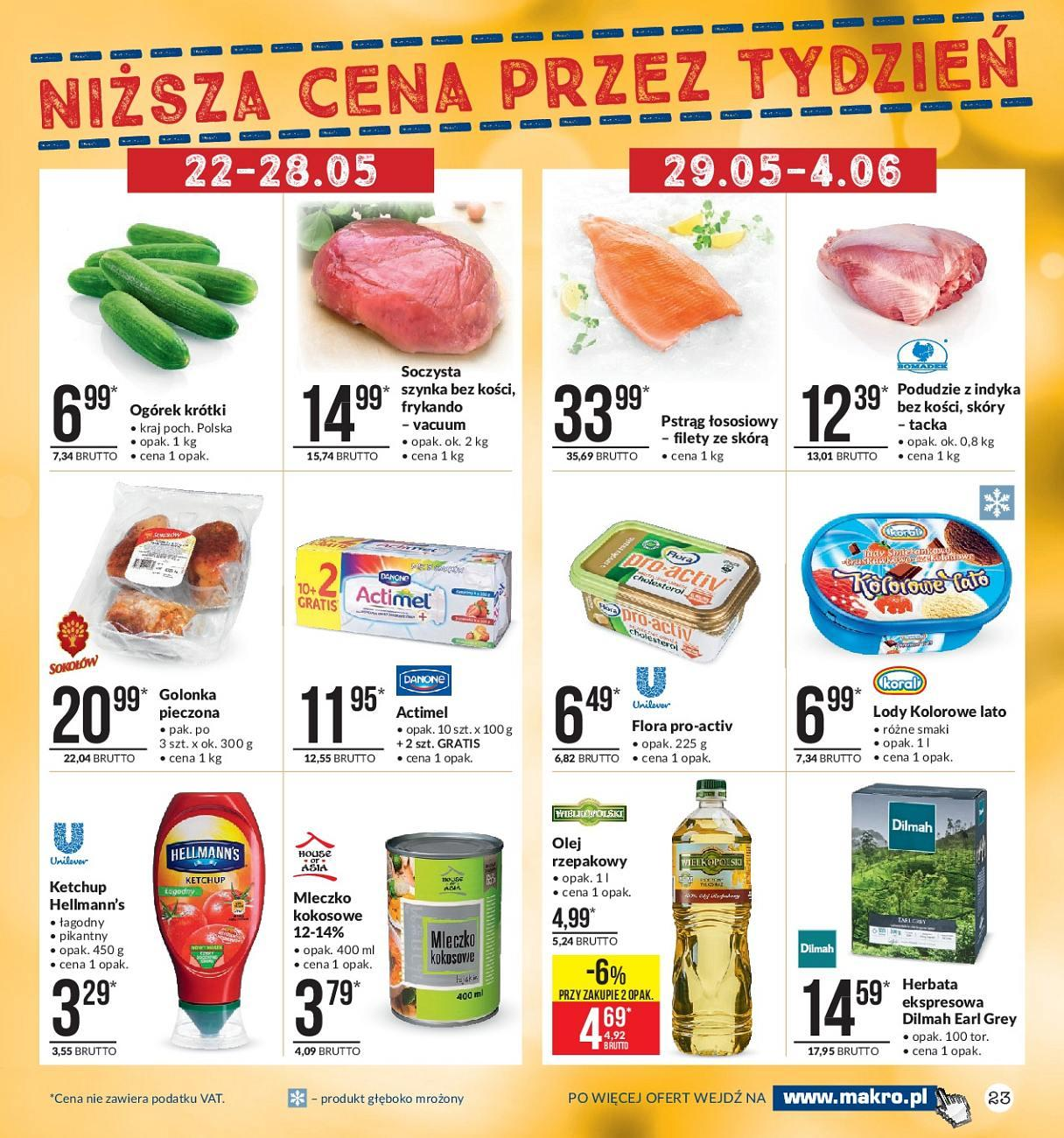 Gazetka promocyjna MAKRO do 04/06/2018 str.22