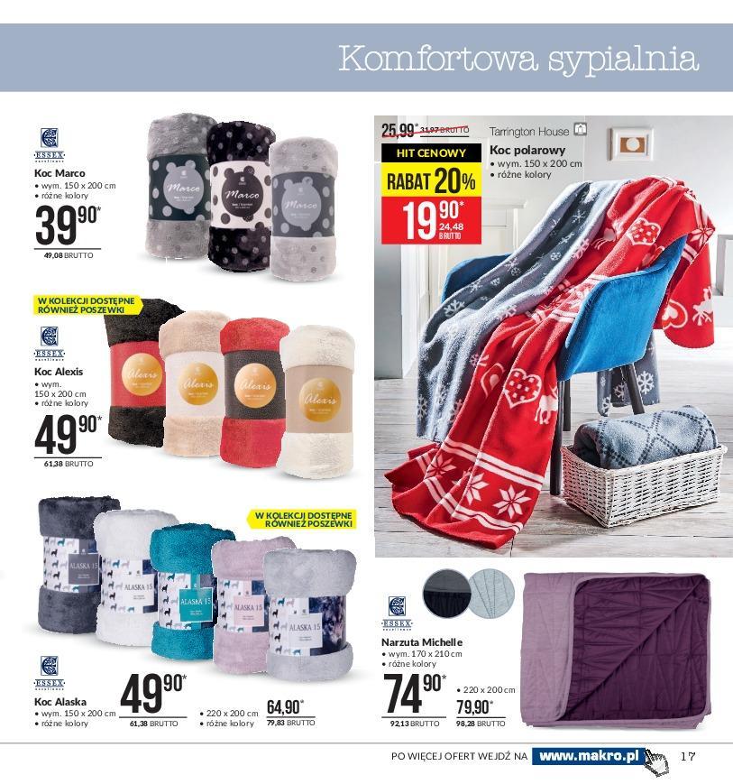 Gazetka promocyjna MAKRO do 19/11/2018 str.16