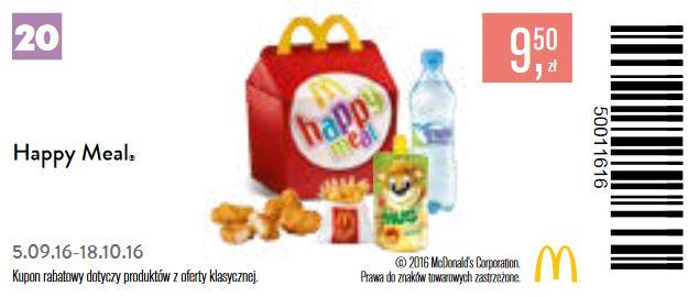 Gazetka promocyjna McDonalds do 18/10/2016 str.21