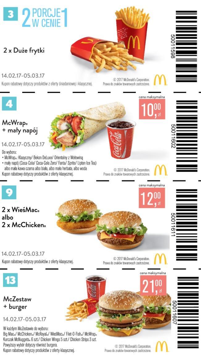 Gazetka promocyjna McDonalds do 15/03/2017 str.2