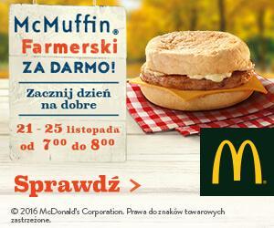 Gazetka promocyjna McDonalds do 25/11/2016 str.0