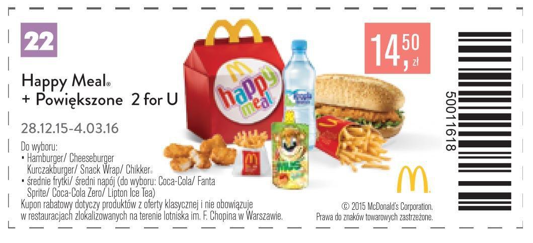 Gazetka promocyjna McDonalds do 04/03/2016 str.23
