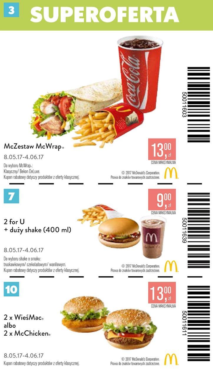 Gazetka promocyjna McDonalds do 04/06/2017 str.2