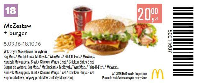 Gazetka promocyjna McDonalds do 18/10/2016 str.17