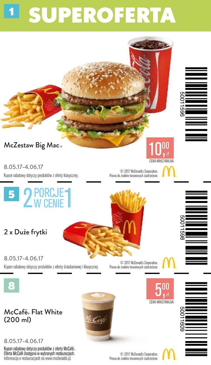 Gazetka promocyjna McDonalds do 04/06/2017 str.0