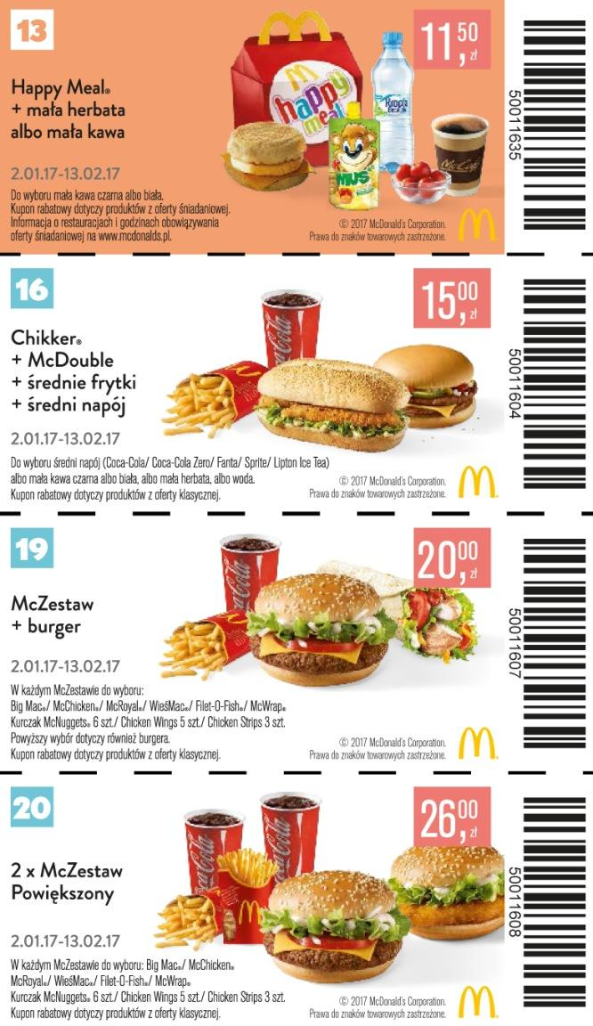 Gazetka promocyjna McDonalds do 13/02/2017 str.7