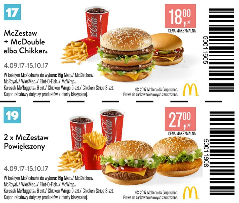 Gazetka promocyjna McDonalds do 15/10/2017 str.12