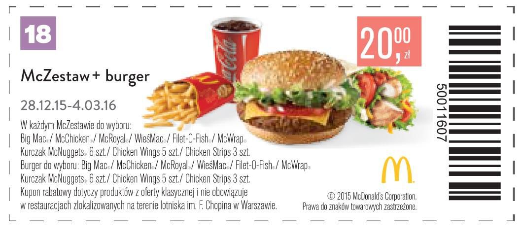 Gazetka promocyjna McDonalds do 04/03/2016 str.17