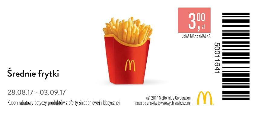 Gazetka promocyjna McDonalds do 03/09/2017 str.0