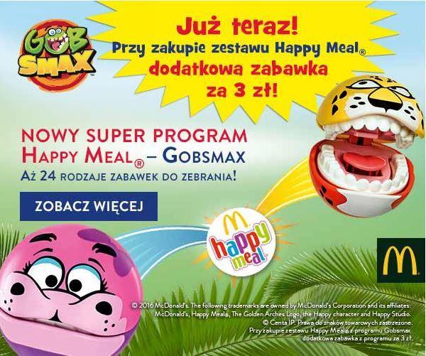 Gazetka promocyjna McDonalds do 18/08/2016 str.0