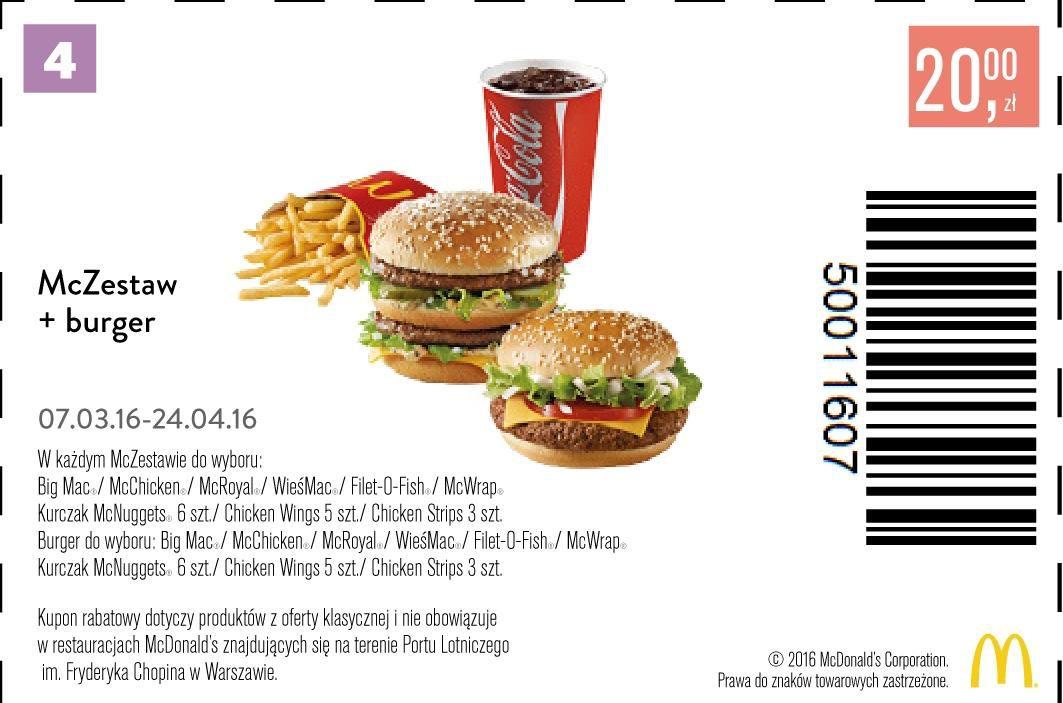 Gazetka promocyjna McDonalds do 24/04/2016 str.2