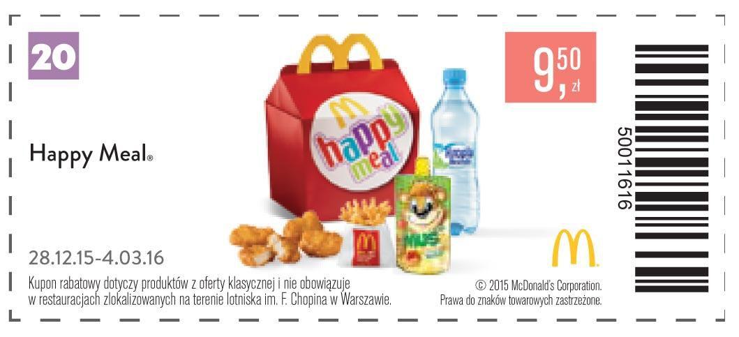 Gazetka promocyjna McDonalds do 04/03/2016 str.21