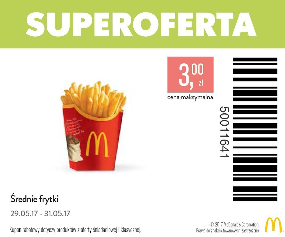 Gazetka promocyjna McDonalds do 31/05/2017 str.0