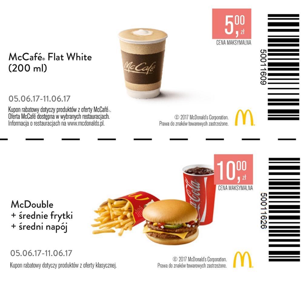 Gazetka promocyjna McDonalds do 11/06/2017 str.0