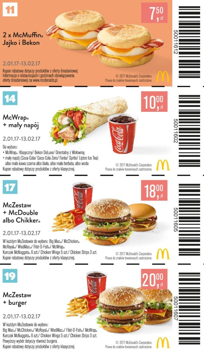 Gazetka promocyjna McDonalds do 13/02/2017 str.4