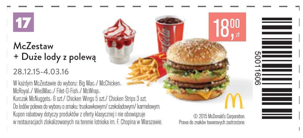 Gazetka promocyjna McDonalds do 04/03/2016 str.16