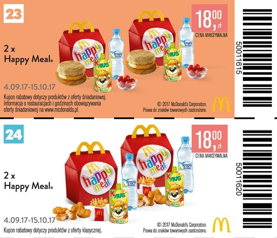 Gazetka promocyjna McDonalds do 15/10/2017 str.11