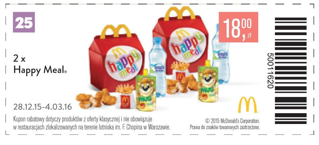 Gazetka promocyjna McDonalds do 04/03/2016 str.27