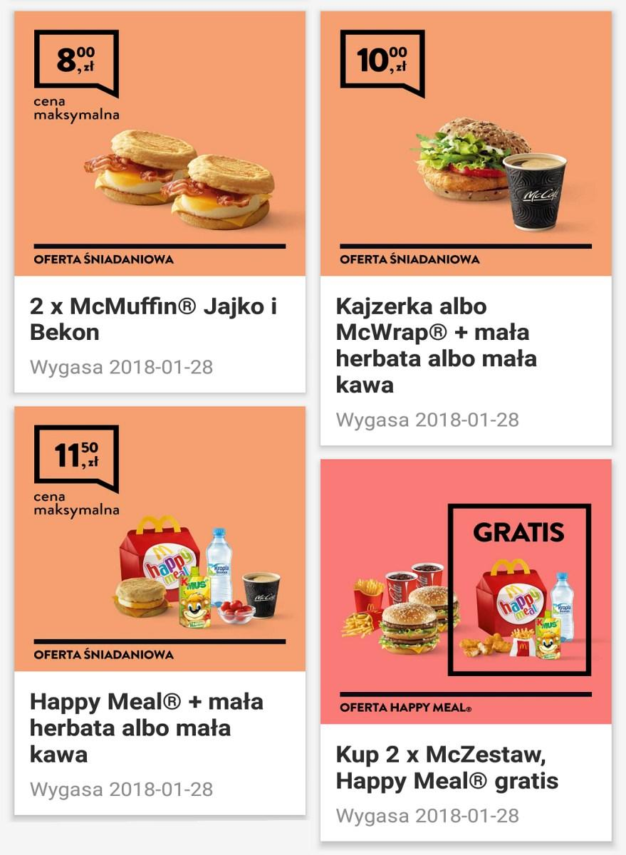 Gazetka promocyjna McDonalds do 28/01/2018 str.3