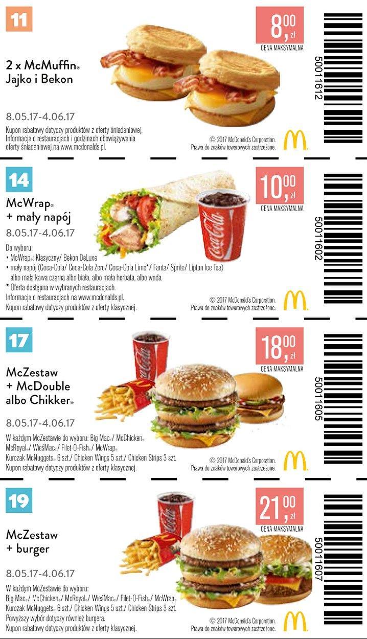 Gazetka promocyjna McDonalds do 04/06/2017 str.4