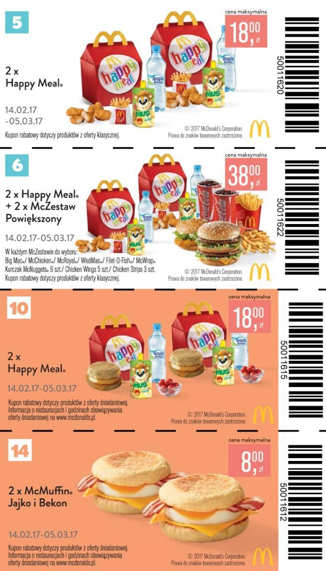 Gazetka promocyjna McDonalds do 15/03/2017 str.3