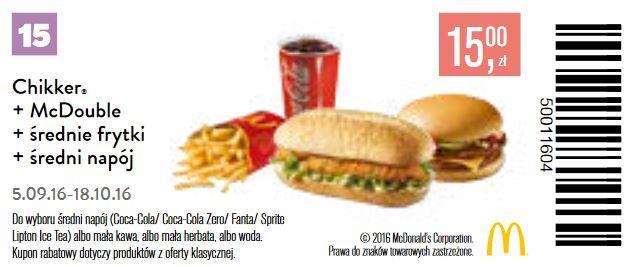 Gazetka promocyjna McDonalds do 18/10/2016 str.14