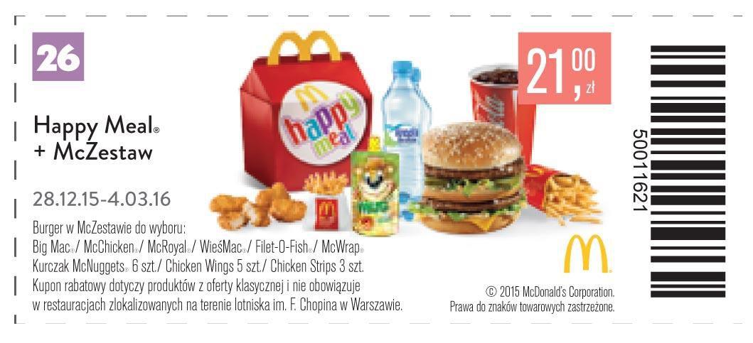 Gazetka promocyjna McDonalds do 04/03/2016 str.27