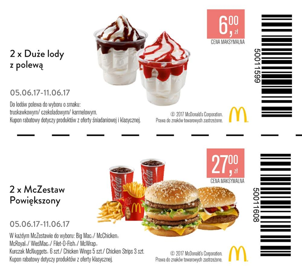 Gazetka promocyjna McDonalds do 11/06/2017 str.2