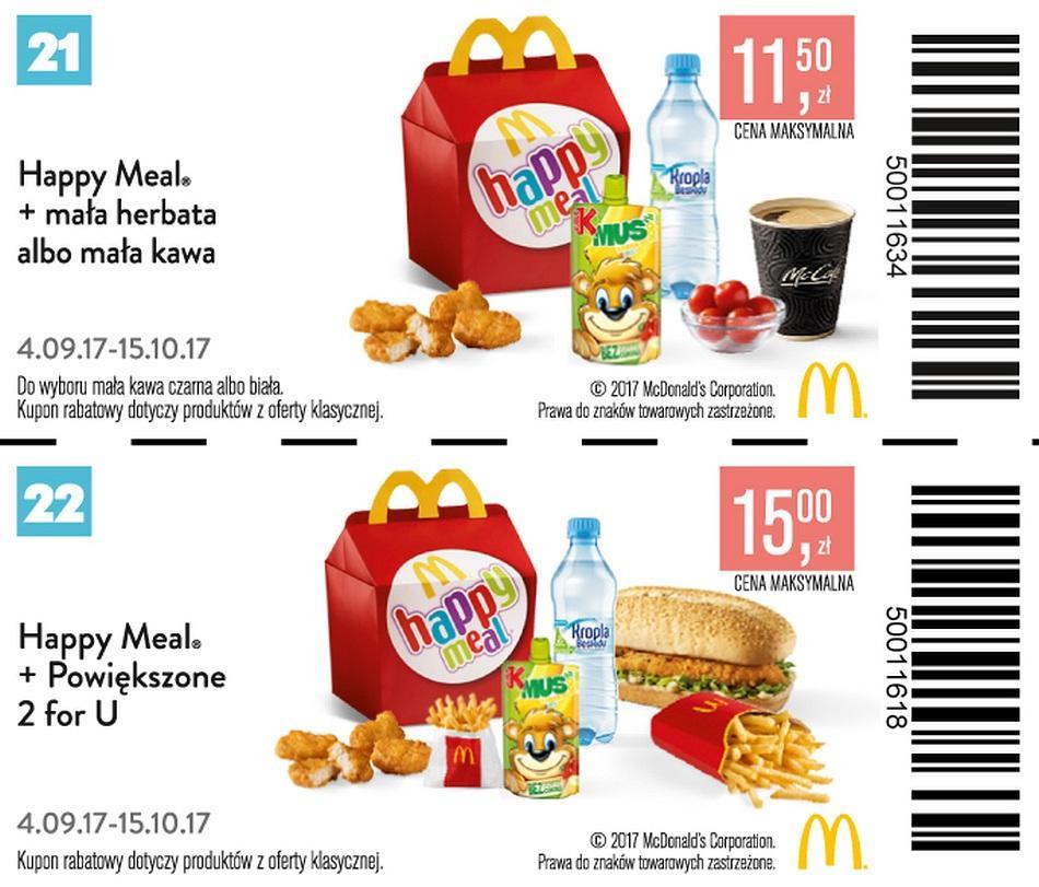 Gazetka promocyjna McDonalds do 15/10/2017 str.7