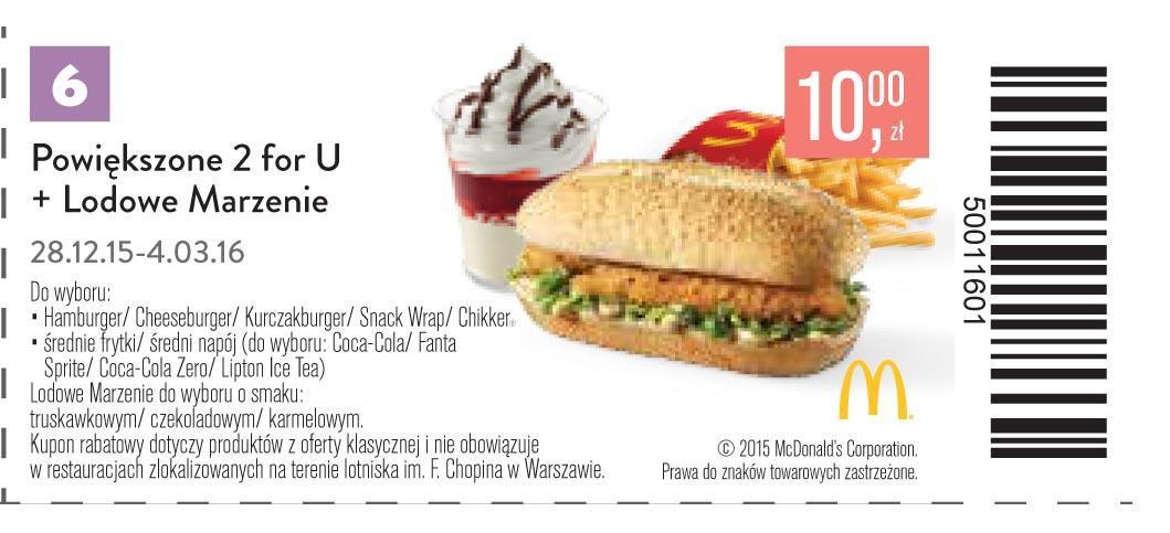 Gazetka promocyjna McDonalds do 04/03/2016 str.5