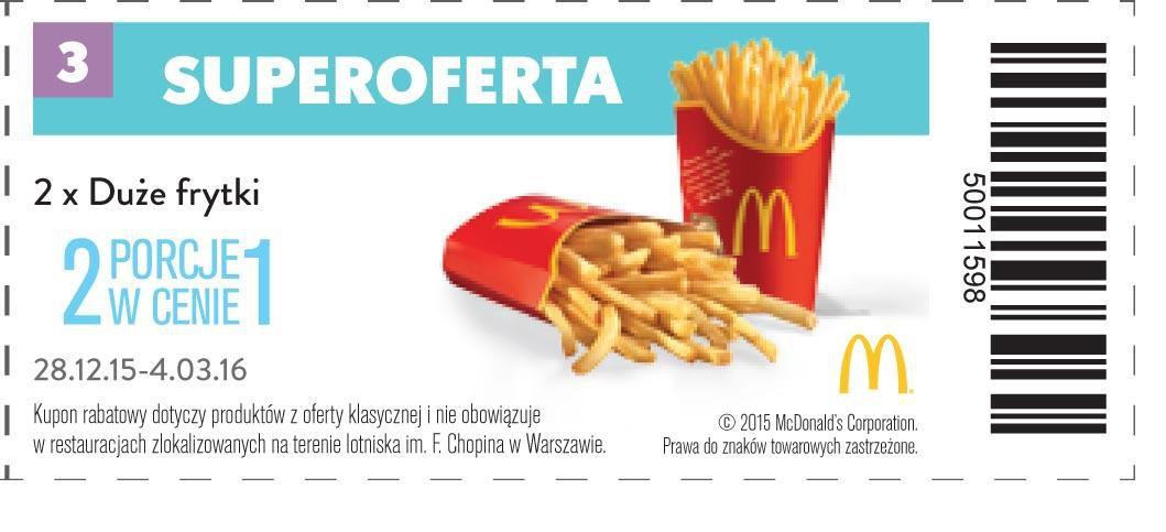 Gazetka promocyjna McDonalds do 04/03/2016 str.2