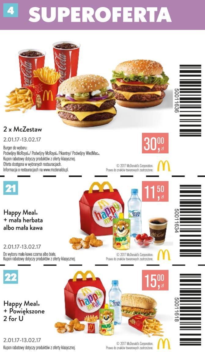 Gazetka promocyjna McDonalds do 13/02/2017 str.3