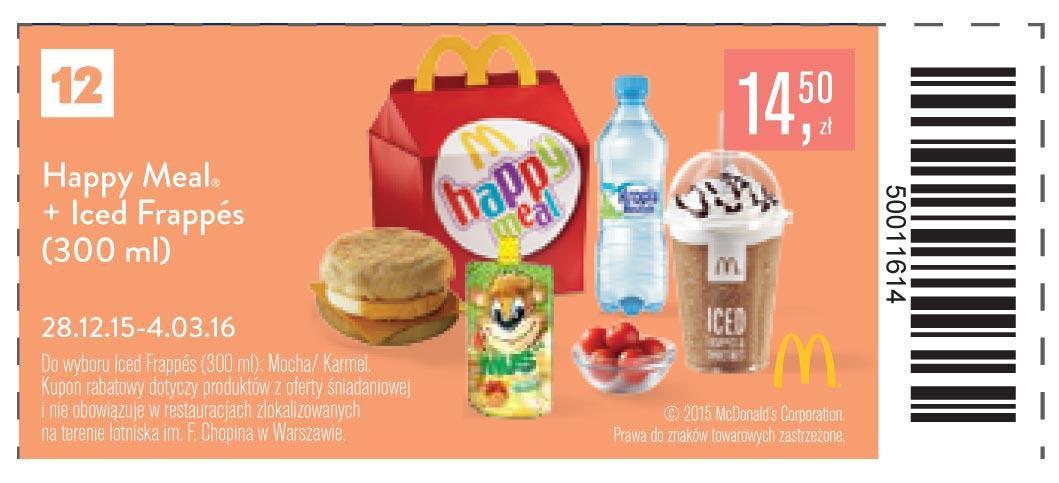 Gazetka promocyjna McDonalds do 04/03/2016 str.11