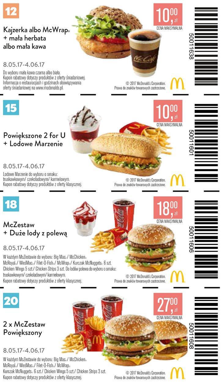 Gazetka promocyjna McDonalds do 04/06/2017 str.5
