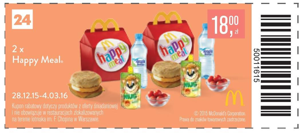 Gazetka promocyjna McDonalds do 04/03/2016 str.25